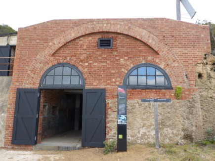 Entrance to the Engine Room