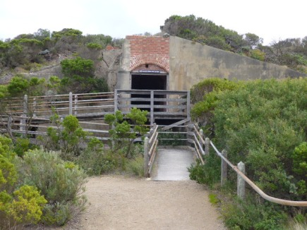 Entrance to the Fort Nepean tunnels