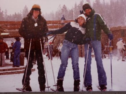 Skiing in the Colorado Mountains
