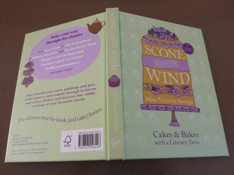 Scone With The Wind Miss Victoria Sponge Cakes & Bakes with a Literary Twist