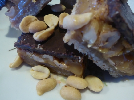 Caramel Slice - Salted Peanut Variation