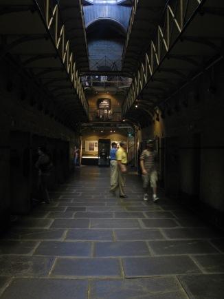 Inside the Old Melbourne Gaol