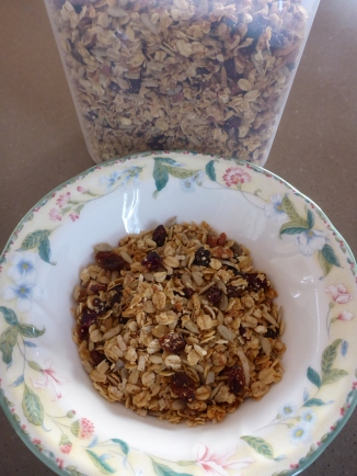 My homemade granola