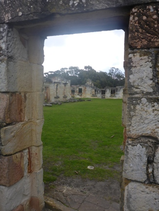 A view of the Convict Precinct