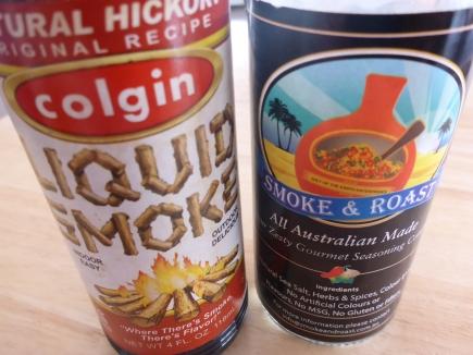 Smokey flavouring