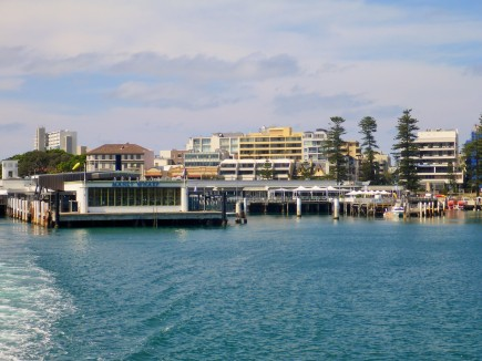 The Manly Ferry Wharf
