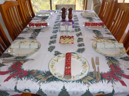 The table is set and we are ready!