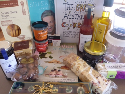 All those wonderful foodie presents!