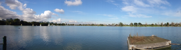 Beautiful Albert Park Lake