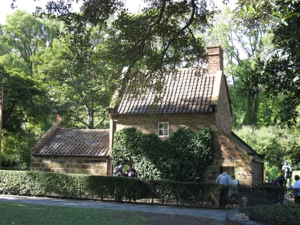 Cooks Cottage at Fitzroy Gardens