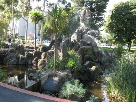 Fountain in Fitzroy Gardens