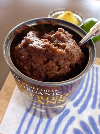 A tin of good Refried Beans