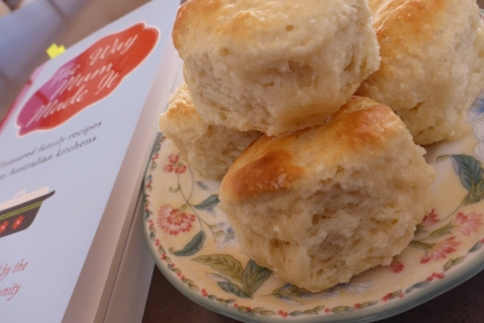 I just can't pass up a perfect scone!