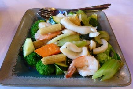 Seafood and Veg