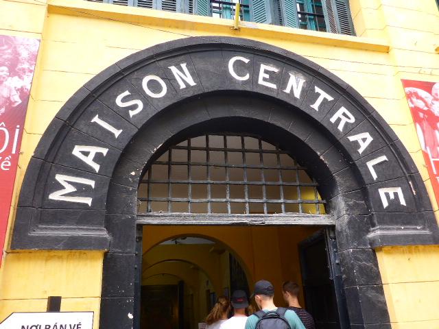 Hoa Lo Prison Entrance Hanoi