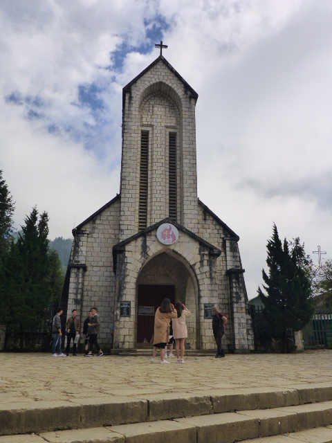 Holy Rosary Church in Sapa
