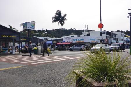 Main street in Paihia