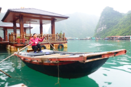 The Sampan we cruised on