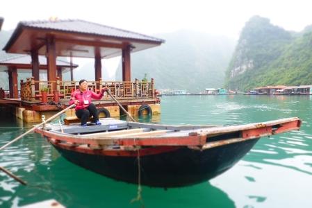 The Sampan we cruised on