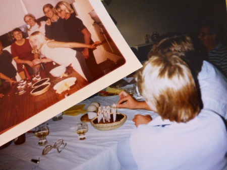 No matter what age, I always liked my Chocolate Pie instead of birthday cake!